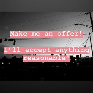 Offer any amount!